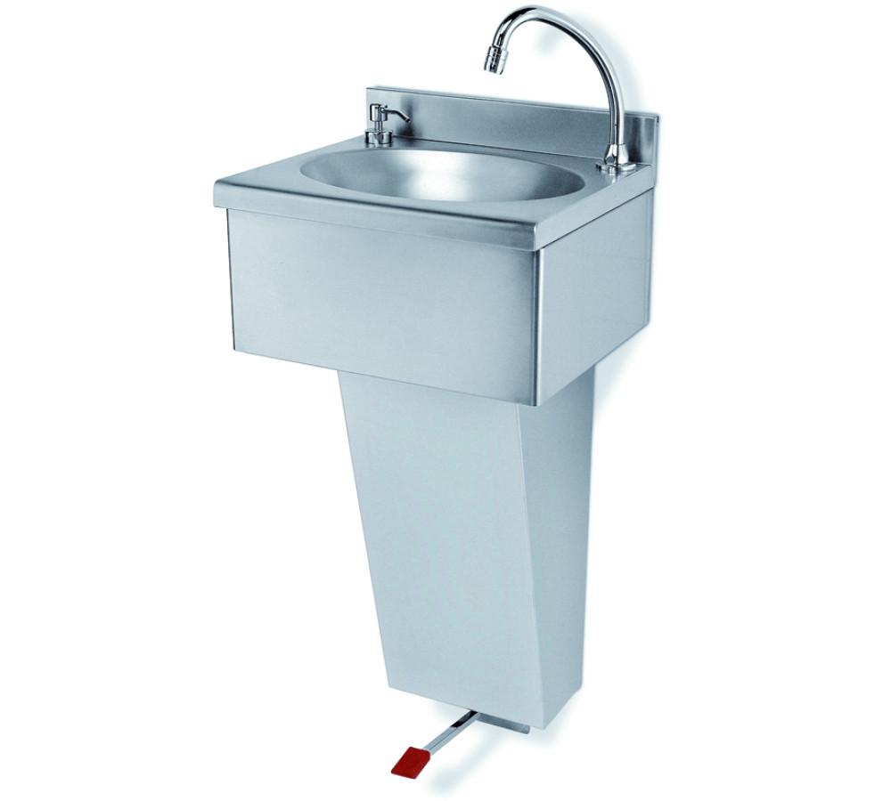 Genebre lavamanos inox a pedal lavamanos inox a pedal for Manual de cocina industrial