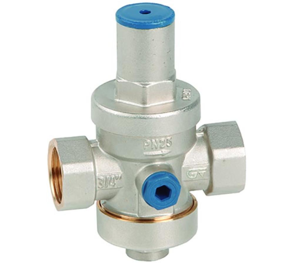 Valvula limitadora de presion para agua
