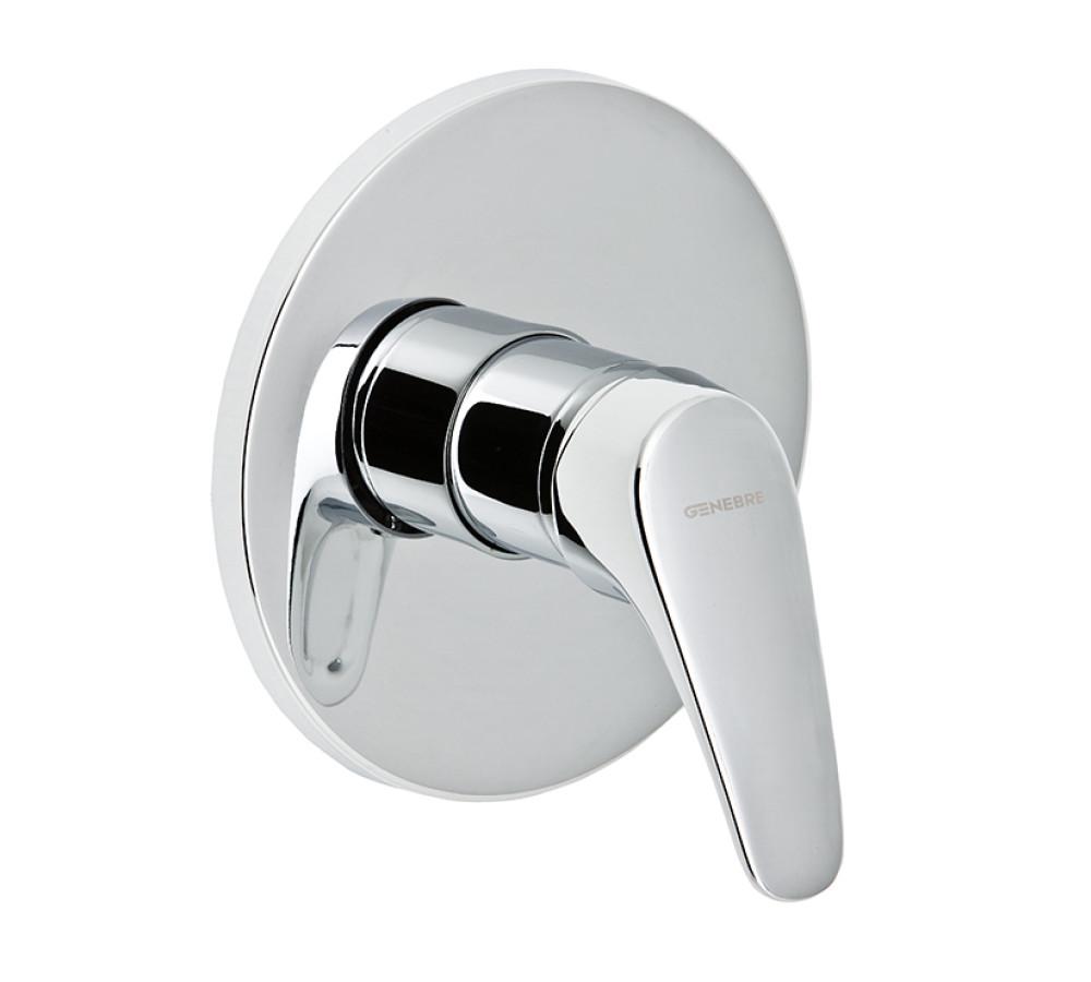 Genebre monomando de ducha empotrado monomando de ducha for Llave monomando ducha